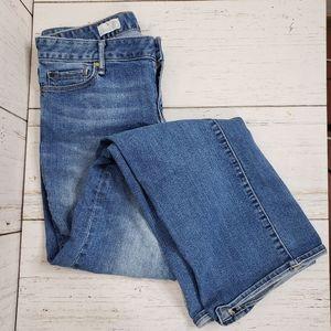 Gap light wash bootcut jeans